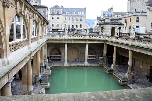 Roman Baths and Pump Room 羅馬浴池 by cyesuta, on Flickr