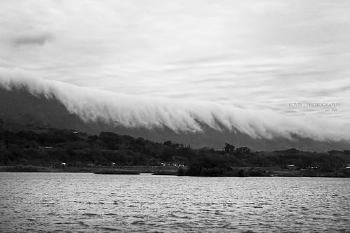 大坡池觀雲