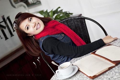 Hình chân dung ca sĩ Hồng Nhung