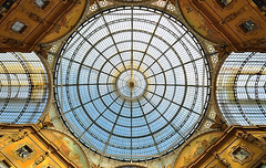 Milano - Alte prospettive (G.hostbuster (Gigi)) Tags: milan gallery milano cupola galleria ghostbuster artisticphotgraphy paololivornosfriends gigi49 visionalartisticphotography