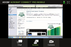 Adobe Connect Pro - iPhone