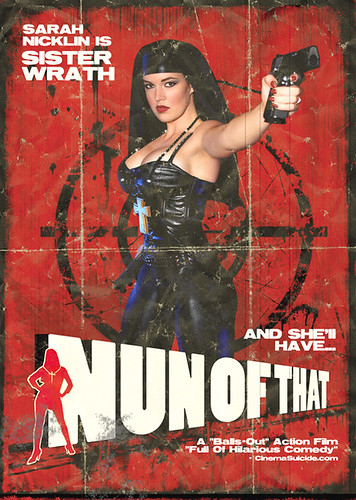 """Nun of That"" - US DVD Art"