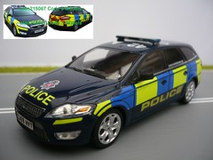 1/43 Code 3 Police Ford Mondeo Estate Essex Dog Unit (alan215067code3models) Tags: new uk dog 3 english ford dogs st code cops estate police bobby british emergency essex section patrol k9 battenburg response unit mondeo 143 minichamps sandon