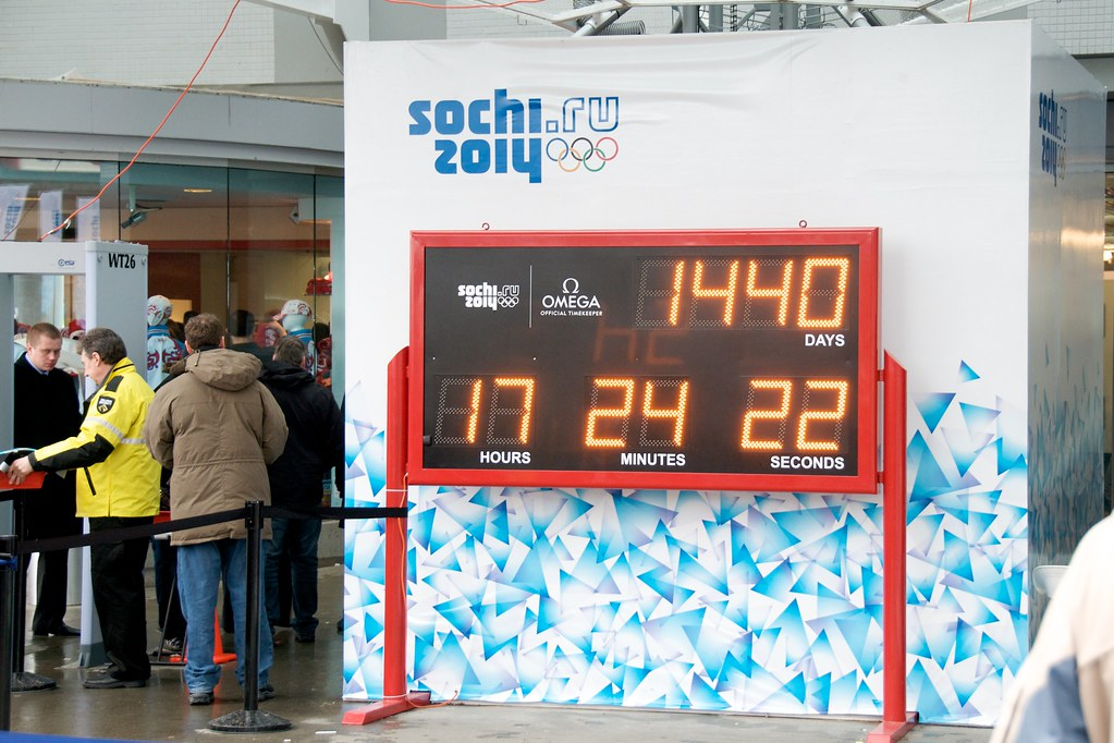 Sochi Countdown Begins