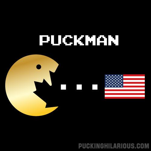 PuckMan-Gold