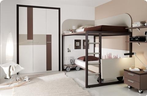 Literas para habitaciones juveniles - Habitaciones con literas juveniles ...
