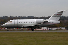4X-CMY - 5388 - NOY Avation - Canadair CL-600-2B16 Challenger 604 - Luton - 091106 - Steven Gray - IMG_3809