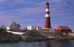 Slettnes lighthouse (GeirB,) Tags: lighthouse norway norge north scan nikkor slides fujichrome dias finnmark nikonf5 fyrtrn fyrlykt gamvik slettnes nordkyn