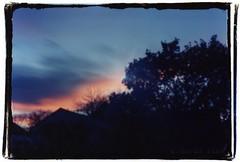 Pinhole Sunset