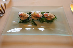 Grilled cockles @ Etxebarri (0aperture) Tags: food pen spain olympus bilbao sansebastian basque michelin gastronomy ep2 etxebarri asador atxondo 43rds apxe olympuspenep2