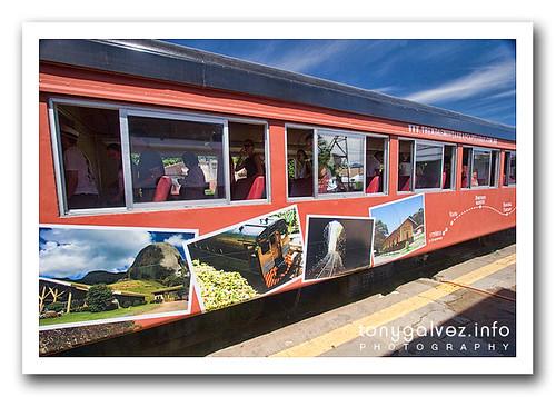 el tren Curitiba-Morretes-Paranaguá