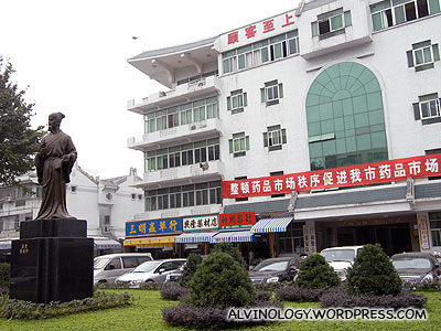 Entrance to the Puning medical hub
