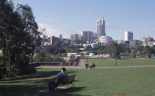 view from NSW Art Gallery
