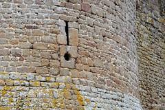 Archre et cannonire du Chteau de Lassay - Mayenne (Philippe_28 (maintenant sur ipernity)) Tags: castle 53 burg mayenne lassayleschteaux