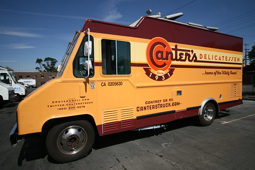 Canter's Deli Food Truck
