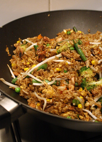 Gluten Free Scallywag_Fried Rice in wok