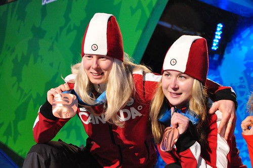 Paralympic Medal Ceremony in Whistler B.C.