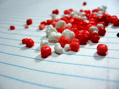 red and white nerds candy