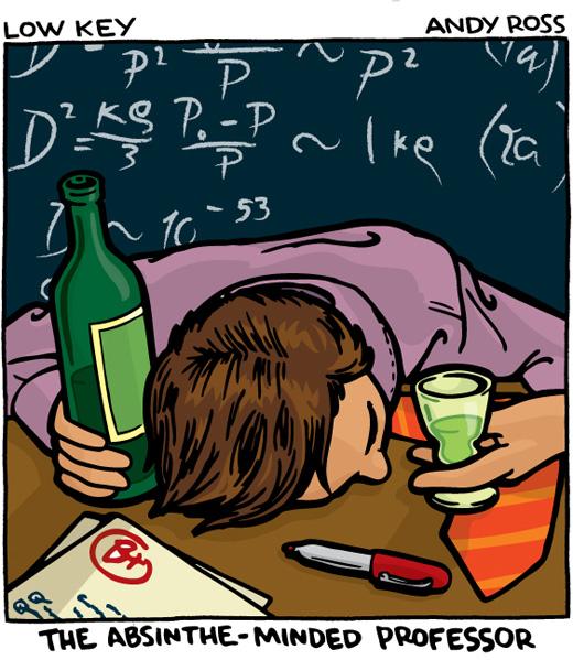 Absinthe-Minded Professor
