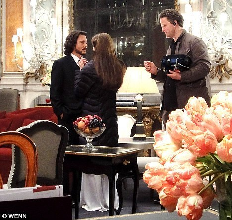 Johnny Depp and Angelina Jolie The Tourist director