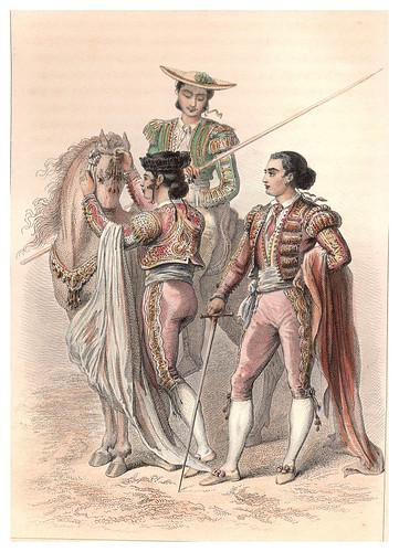009-Cuchares primer matador español-Voyage pittoresque en Espagne et en Portugal 1852- Emile Béginl