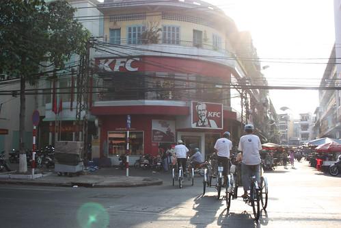 Cyclos and a KFC