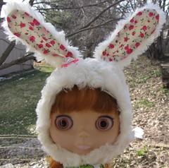 Plushy Bunny Helmet