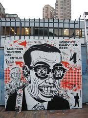 Seremos feos pero tenemos estilo... (Toxicmano) Tags: streetart stencil negro skate estilo fest naranja feos sucio duotono visceral centrocolomboamericano