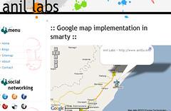 Googlemap implementation in smarty - Anil kumar panigrahi
