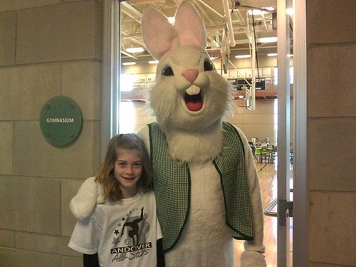 Easter Bunny at Andover YMCA