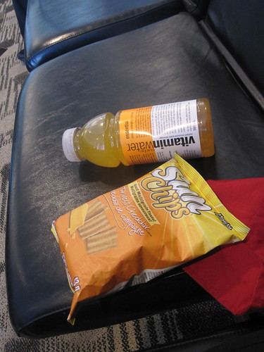 Vitamin water, chips - $5.45