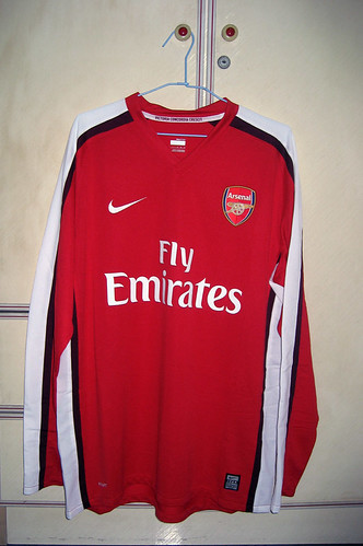 Arsenal 2008-2010 Home L/S