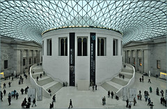 And Let Thy Feet... (HannyB) Tags: london museum interestingness 100v10f symmetry normanfoster britishmuseum greatcourt 30faves30comments300views