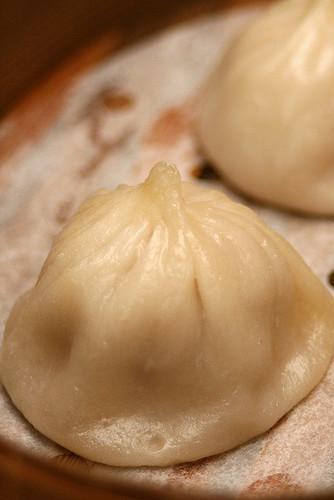 Steamed Xiao Long Bao with Foie Gras