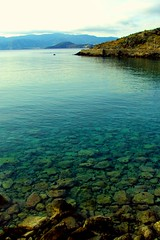 Scenes from Agios Nikolaos, a coastal town on the Greek island of Crete (Peace Correspondent) Tags: beach water landscape rocks kreta greece crete clearwater waterscape kriti agiosnikolaos lassithi kitroplatiabeach