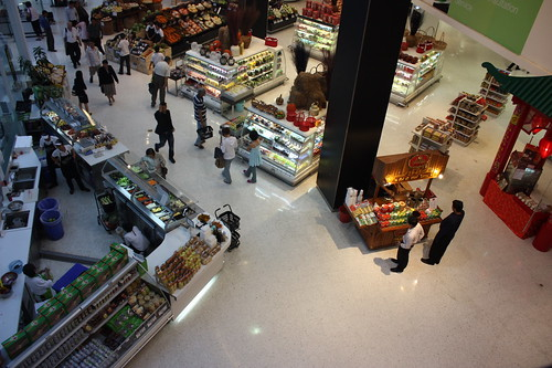 Foodstore in Central World