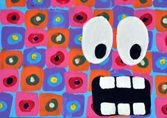 Fabric monster