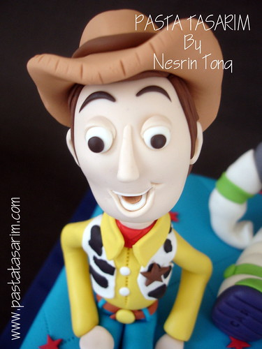 TOY STORY CAKE - WOODY