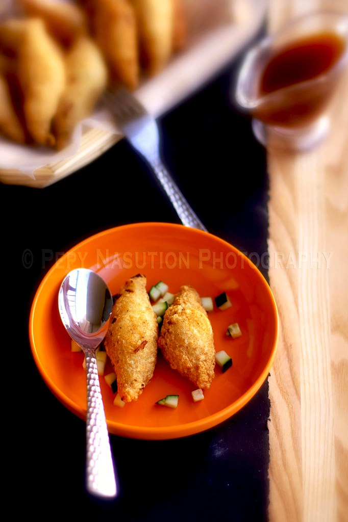 Otak Otak Goreng - Indonesian Fried Fishcake