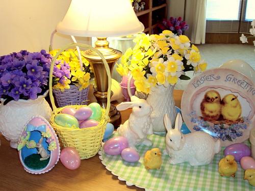 Easter decor 2010