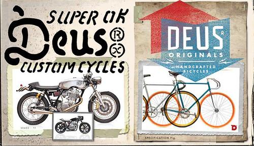 Deus Mototcycles Venice Beach