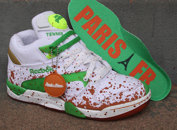 deb5ab918e1b43 Reebok Pump Court Victory – French Open release