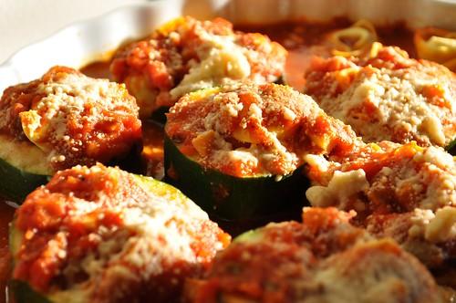 Barilla tortellini stuffed zucchini