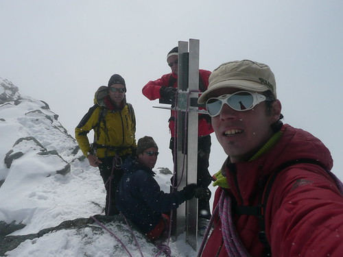 Strahlhorn, 4000m de Saas Fee