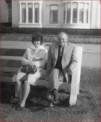 Image titled Mary Reynolds Ayr 1963 With family friend Joe Mitchell