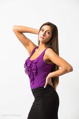 Erin (garyhebding) Tags: woman white girl pose studio model photoshoot erin background alienbees b800 canonef70200mmf4lisusm canoneos5dmarkiii