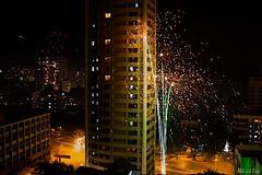 Diwali Fireworks (_quasi) Tags: light fire display fireworks smoke pollution diwali mumbai crackers deepawali goregaon kandivili