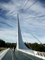 A Different Angle (P-Kittye) Tags: california bridge tag3 taggedout architecture tag2 tag1 sundial redding santiagocalatrava sundialbridge thecontinuum pkittye