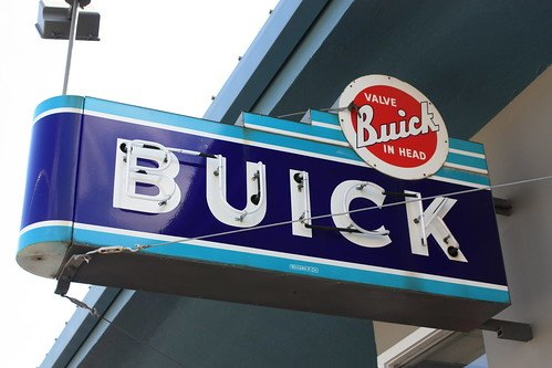 Neon Buick Sign