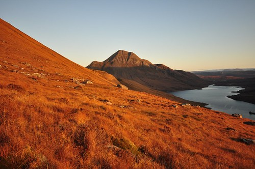 Cul Beag near sunset